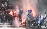 VIDEO INCREDIBIL! 1000 de fani croati au facut spectacol la antrenamentul lui Dinamo Zagreb!