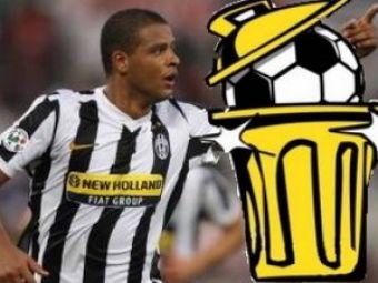 Melo, castigatorul Bidone d'Oro in Italia! Ronaldinho si Huntelaar, in TOP
