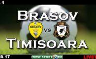 Diogo(L)!Brasov reuseste minunea: FC Brasov 1-0 FC Timisoara!