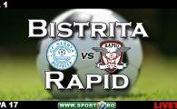 Gloria Bistrita 1-1 Rapid(Keita '57 / Herea '38)