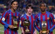 Ronaldinho, jucatorul DECENIULUI! Vezi topul celor mai buni jucatori din lume: