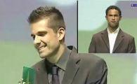 VIDEO / Era sigur ca va fi ales portarul anului! Vezi cum a reactionat cand a vazut ca a pierdut: