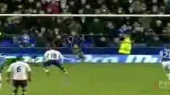 Defoe, omul negru: a ratat un penalty in ultimul minut!Vezi goluri tari in Everton 2-2 Tottenham!