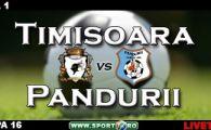 Tot Banatu-i fruntea! Timisoara 1-0 Pandurii (Bucur '11)