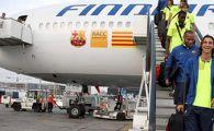 Au patit-o ca dinamovistii! Avionul Barcelonei a fost intors din drum!