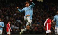 VIDEO! Un gol de nu TEVEZi! Cu ce super gol a umilit-o City pe Arsenal cu 3-0!
