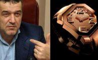 Vezi ce ceas din aur masiv de 60.000 de euro are Gigi Becali!
