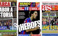 "Meciul Mileniului! El Mundo: ""Eroi!"" / Marca: ""Savurati victoria!"""