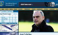 Avram Grant a fost numit antrenor la Portsmouth!