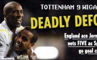 VIDEO / Incredibil: Tottenham 9-1 Wigan! Defoe a marcat de 5 ori!