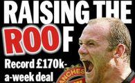 Rooney ar putea deveni cel mai bine platit jucator din istoria Premier League! Vezi cat va castiga: