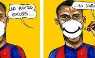 Jucatorii Barcelonei cad pe capete! Al treilea caz de gripa porcina in 2 zile!