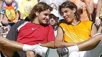 """Federer:""""N-as fi fost atat de mare fara Nadal""""!VEZI grupeleMastersului de la Londra!"""