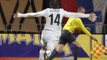 VIDEO Arshavin, OUT de la mondiale! Slovenia 1-0 Rusia!
