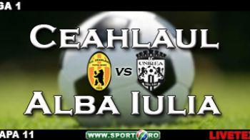 Ceahlaul 1-1 Alba Iulia (Doicaru '37/ Veljovic '90)
