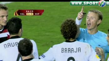 Au dat-o in bara de 2 ori! David Villa eliminat!VIDEO: Valencia 1-1 Slavia Praga!