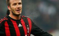 "Beckham revine la Milan:""Imprumutul e 95% rezolvat"""