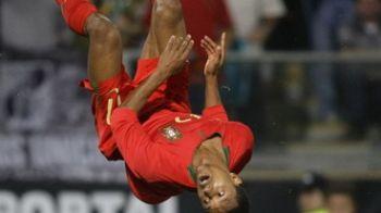 VIDEO SUPER goluri Nani si Simao! Portugalia e in play-off dupa 4-0 cu Malta!