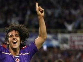 """Jovetic i-a luat fata lui Mutu: """"Fiorentina are un nou erou!"""""""