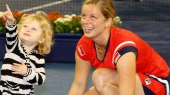 Kim Clijsters, peste 1.600.000 de dolari castigati intr-o luna de tenis!