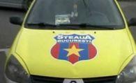 Ce tupeu! Cu sigla Stelei pe taxi, la stadionul Dinamo! Ce au facut dinamovistii