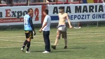 VIDEO / Ca la Dinamo - Slovan! Fanii Farului l-au alergat pe portarul Vlas pe teren!