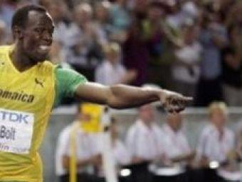 Record dupa record! Bolt, aur la stafeta si record al mondialelor!