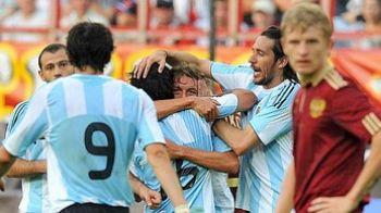 VIDEO: Aguero, super gol de la 25 de m! Rusia 2-3 Argentina!