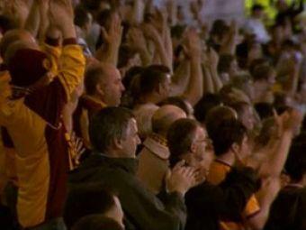 SUPER VIDEO: Stelistii, aplaudati de un stadion intreg in Scotia la finalul meciului!