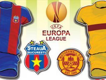 ACUM: Reactii, interviuri, imagini LIVE de la Motherwell - Steaua!