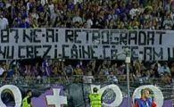 """Lucescu: """"Daca bannerul asta ajunge la UEFA, terenul lui Poli va fi suspendat!"""""""