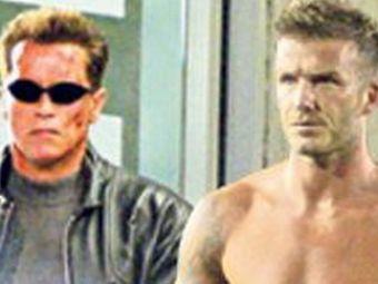 Beckham si Arnold, terminatori pentruCalifornia!