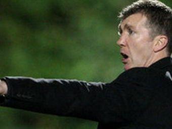 """Antrenor Motherwell:""""Am fost dominati! Totul e terminat daca Steaua marcheaza in retur!"""""""