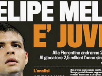Pleaca siMutu? Fiorentina l-a dat pe Melo la Juventus!