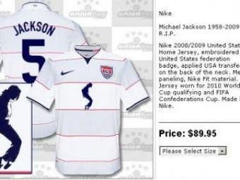 Nationala SUA a lansat tricoulMichaelJackson!