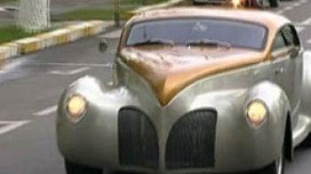 Cel mai bogat primar din Romania isi prezinta replica Lincoln Zephyr azi la 11:15 la ProMotor