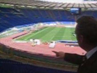 """Locul """"crimei"""": Platini se teme de incidente GRAVE pe """"Stadionul Cutitelor"""" din Roma! Spaniolii au inspectat stadionul Olimpico"""