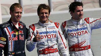 Furtuna in desert: Button castiga si consolideaza suprematia Brawn GP