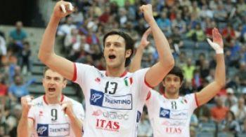 ACUM: Finala Ligii Campionilor la volei masculin: Trentino - Iraklis la Sport.ro