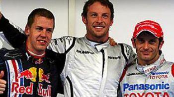 Dezastru din nou pentru granzi: Button in pole-position la Sepang!