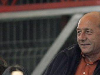 Sa jucati bine! Basescu, talismanul nationalei, vine la meci!