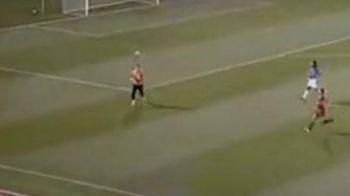 INCREDIBIL! Un copil de mingi si-a ajutat echipa sa marcheze cel mai tare gol!