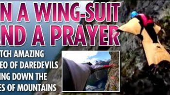 Spune o rugaciune si SARI! Vezi ultima moda in materie de parasutism!
