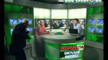 GEST DE MAHALA, partea a 2-a! Ioan Becali l-a scuipat pe Manolo Terzian in pauza publicitara