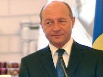 Traian Basescu a trimis o coroana de flori pentru Marian Cozma