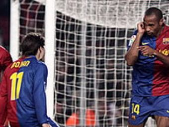 "Henry si Marquez, goluri ""extraterestre"": Barcelona-Real Mallorca 2-0!"