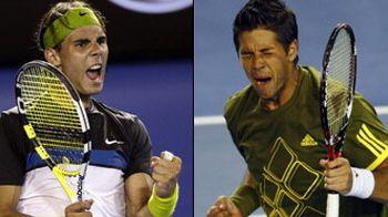 Nadal in semifinale cu Verdasco la Australian Open, Tsonga si Simon OUT!