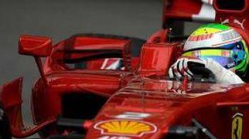 Video/ Felipe Massa, primul pilot la volanul Ferrari 60!