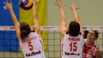 Metal Galati, invinsa in a doua partida din Liga Campionilor la volei!