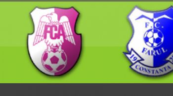 Arges 3-0 Farul (Mircea Stan, Nastasie, Balasa)
